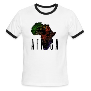 Africa - Men's Ringer T-Shirt
