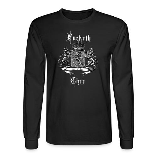 Fucketh Thee - Men's Long Sleeve T-Shirt