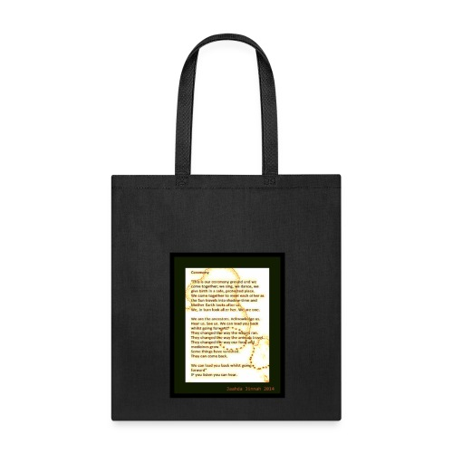 CEREMONY - Tote Bag