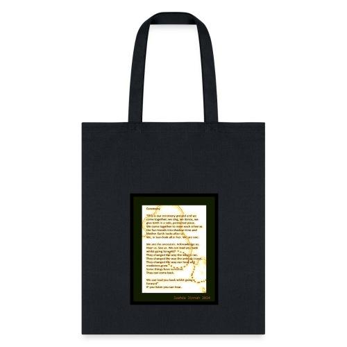 CEREMONY - Tote Bag