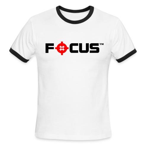 Focus™ Men's Ringer T-Shirt - Men's Ringer T-Shirt
