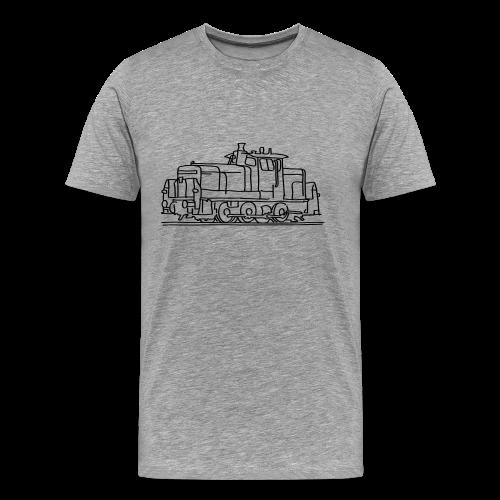 Diesel locomotive - Men's Premium T-Shirt