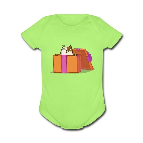 Newcat — Friday Cat №36 - Organic Short Sleeve Baby Bodysuit