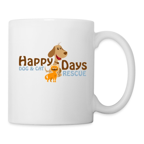 Happy Days Dog and Cat Rescue Mug! - Coffee/Tea Mug