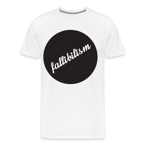Fallibilist - Men's Premium T-Shirt