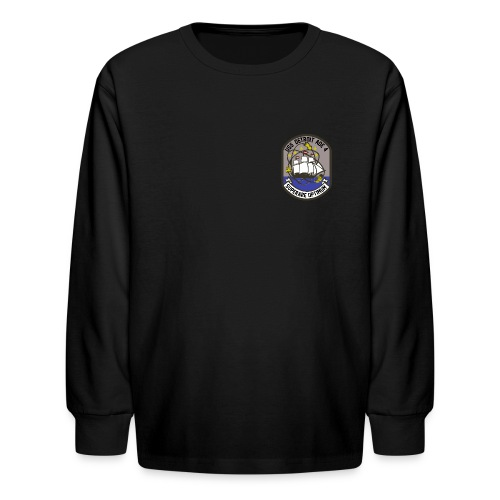 USS DETROIT AOE-4 FIGHTING TIGERS LONG SLEEVE - KID'S - Kids' Long Sleeve T-Shirt