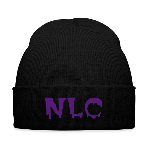 NLC Beenie  - Knit Cap with Cuff Print