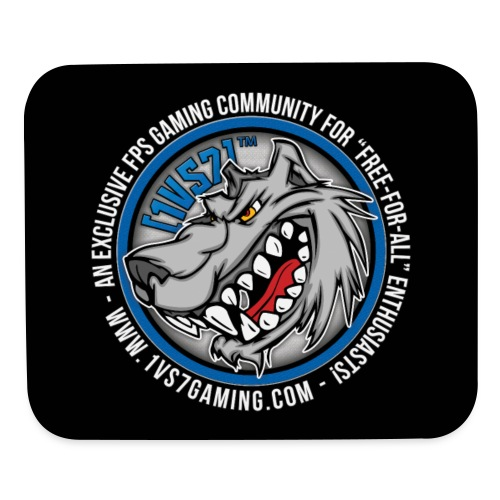 [1vs7]™ Mouse Pad | Classic Full Color Logo - Mouse pad Horizontal