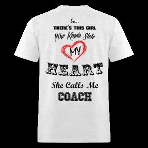 She Calls Me Coach-Mens - Men's T-Shirt