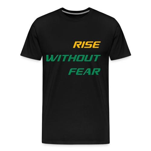 RWF Tee (Mens) BLACK - LARGER SIZES - Men's Premium T-Shirt