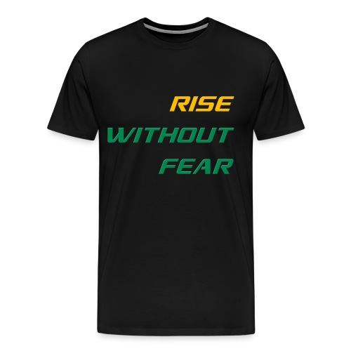 RWF Tee (Mens) BLACK - LARGER SIZES - Men's Premium T-Shirt