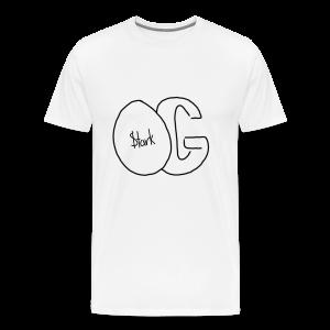 Men's OG $tark Block Tee - Men's Premium T-Shirt