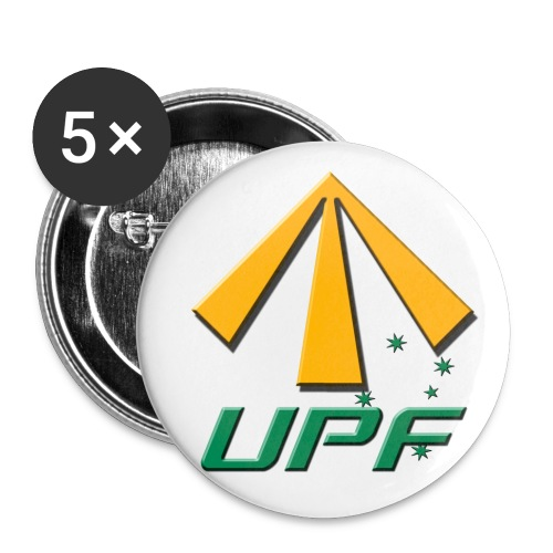 UPF Badges - 5 pack - Buttons large 2.2'' (5-pack)