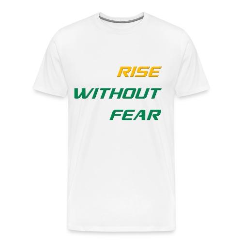 RWF Tee (Mens) WHITE - LARGER SIZES - Men's Premium T-Shirt