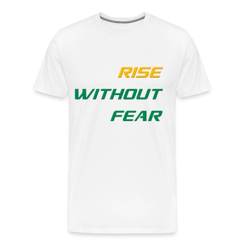 RWF Tee (Mens) WHITE - LARGER SIZES - Men's Premium T-Shirt