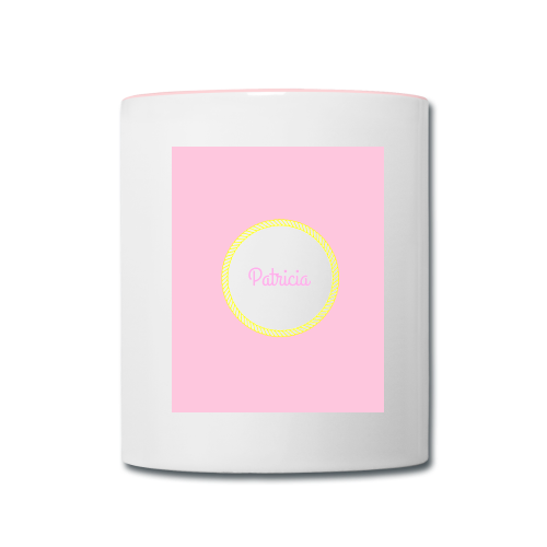 Girly Pink - Contrast Coffee Mug