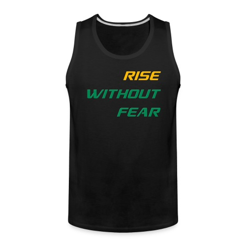 RWF Singlet (Big Fellas) BLACK - Men's Premium Tank