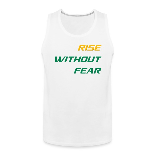 RWF Singlet (Big Fellas) WHITE - Men's Premium Tank