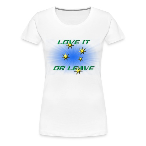AUSTRALIA DAY 2016 L.I.O.L - WOMENS  - Women's Premium T-Shirt