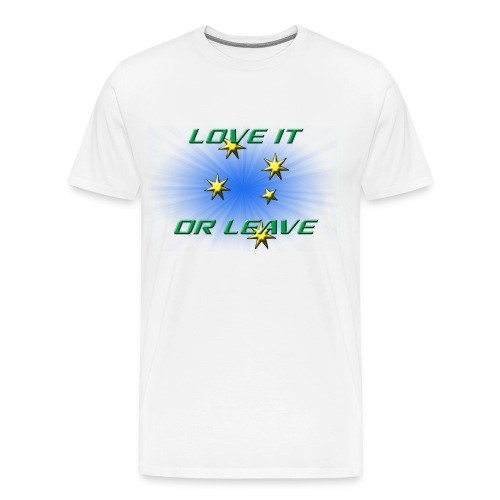 AUSTRALIA DAY 2016 L.I.O.L - BIG FELLAS - Men's Premium T-Shirt