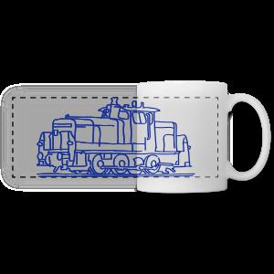Diesel locomotive - Panoramic Mug