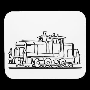 Diesel locomotive - Mouse pad Horizontal