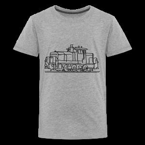 Diesel locomotive - Kids' Premium T-Shirt