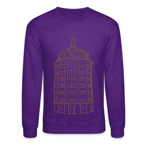 Water tower at Kollwitzplatz  - Crewneck Sweatshirt