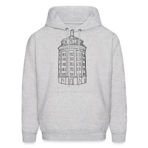 Water tower at Kollwitzplatz  - Men's Hoodie