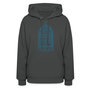 Water tower at Kollwitzplatz  - Women's Hoodie