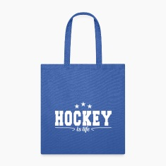 Hockey is life 4 Bags & backpacks