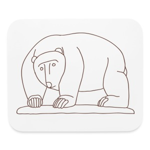 Bears Bridge Moabit - Mouse pad Horizontal