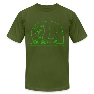 Bears Bridge Moabit - Men's T-Shirt by American Apparel