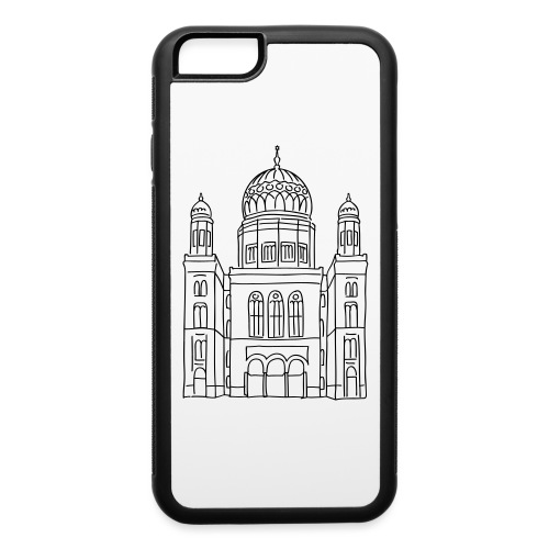 New Synagogue Berlin - iPhone 6/6s Rubber Case