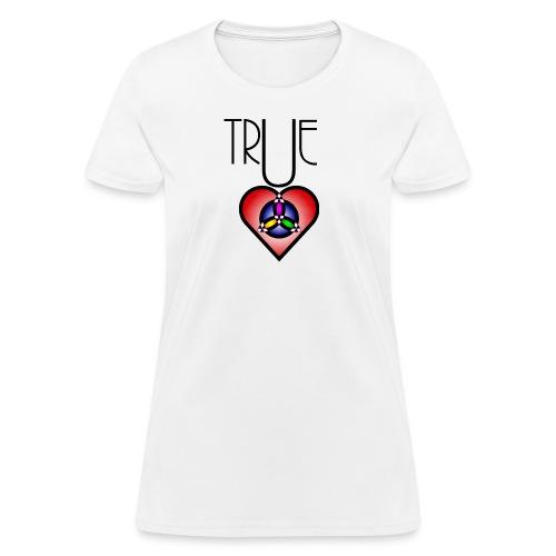 True Heart Triity Necklace - Women's T-Shirt