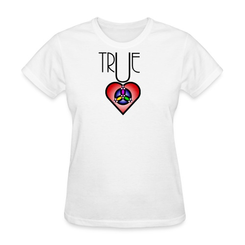 True Heart Triity Necklace - Women's T-Shirt