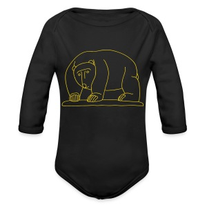 Bears Bridge Moabit - Long Sleeve Baby Bodysuit