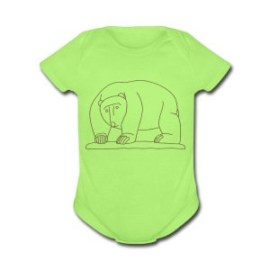 Bears Bridge Moabit - Short Sleeve Baby Bodysuit