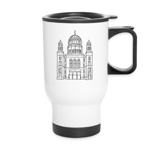 New Synagogue Berlin - Travel Mug