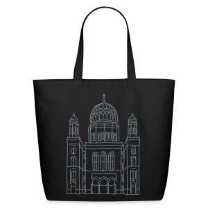 New Synagogue Berlin - Eco-Friendly Cotton Tote