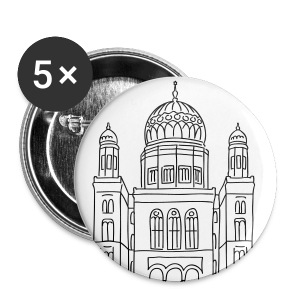 New Synagogue Berlin - Large Buttons