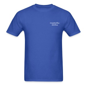 Inspired by Kristina Mens - Men's T-Shirt