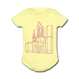 Memorial Church Berlin - Short Sleeve Baby Bodysuit