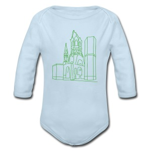 Memorial Church Berlin - Long Sleeve Baby Bodysuit