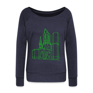Memorial Church Berlin - Women's Wideneck Sweatshirt