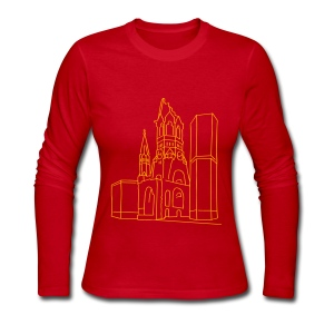 Memorial Church Berlin - Women's Long Sleeve Jersey T-Shirt