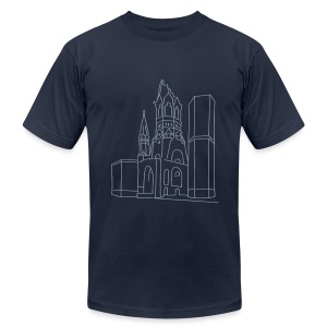 Memorial Church Berlin - Men's T-Shirt by American Apparel