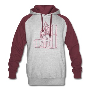 Memorial Church Berlin - Colorblock Hoodie