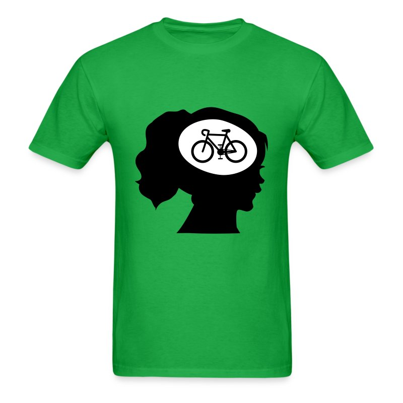 only cycling on my mind t shirt spreadshirt