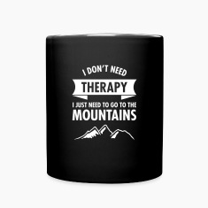 Therapy - Mountains Mugs & Drinkware